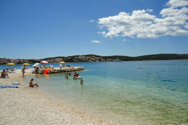 Beaches in Trogir